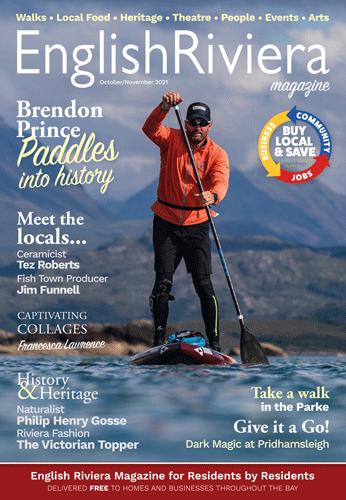 English Riviera Magazine October 20 cover